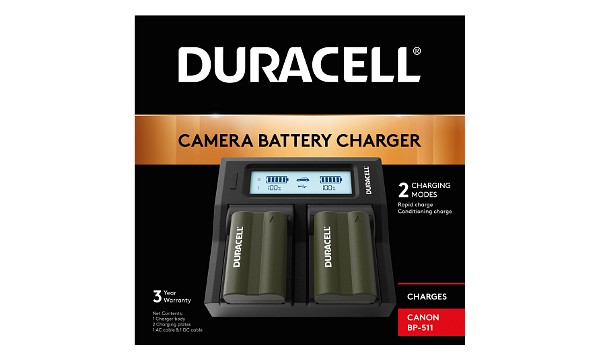 MV400 Canon BP-511 Dual Battery Charger