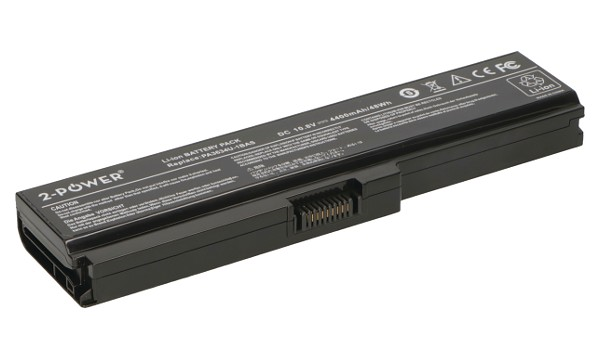 Satellite L635-S3012BN Battery (6 Cells)