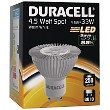 LED GU10 4.5W Clear Spotlight Bulb