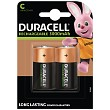 Duracell C size Rechargeable batteries