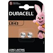Duracell LR43 Battery Twin Pack